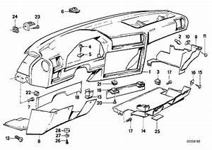 Bmw E30 Dashboard Parts Diagram
