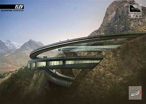 Architecture Photography: Yading Cliff Building ...