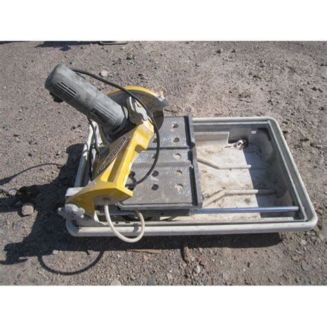 work force ctc850 tile saw