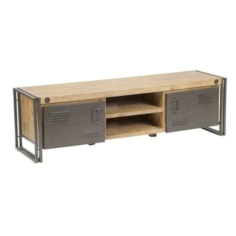65 inch sofa table brooklyn 65 tv stand in distressed solid acacia wood