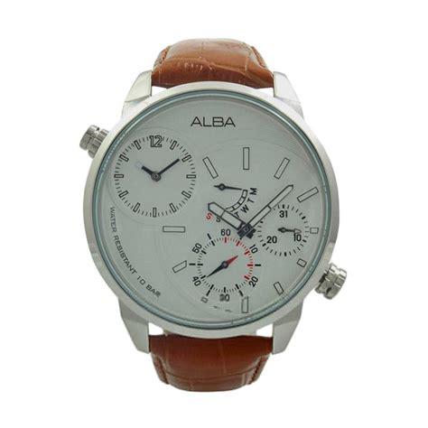 Jam Tangan Alba Cowok 2 jual alba original leather jam tangan pria a2a009