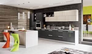 cuisine ilot central la star des cuisines modernes With décoration de cuisine moderne
