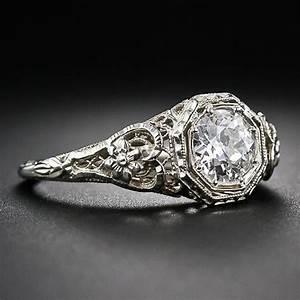 vintage art deco engagement ring ideas 8 trendyoutlookcom With vintage art deco wedding rings