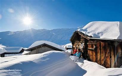 Alpine Wallpaperaccess Wallpapers Scenery Winter