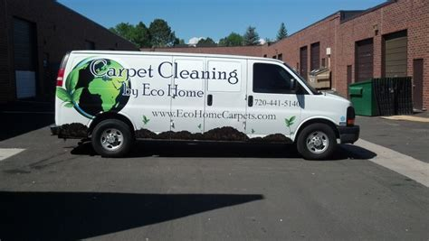 Partial Vehicle Wrap For A New Local Carpet Cleaning