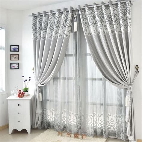 Curtains For Grey Living Room