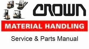 Crown Forklift Rr 5200 Dc   Ac Service Repair Manual