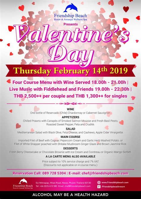 Valentines Day Celebration @ Friendship Beach Resort