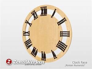 Wanduhr Römische Ziffern : zenziwerken wanduhr r mische ziffern ~ Watch28wear.com Haus und Dekorationen