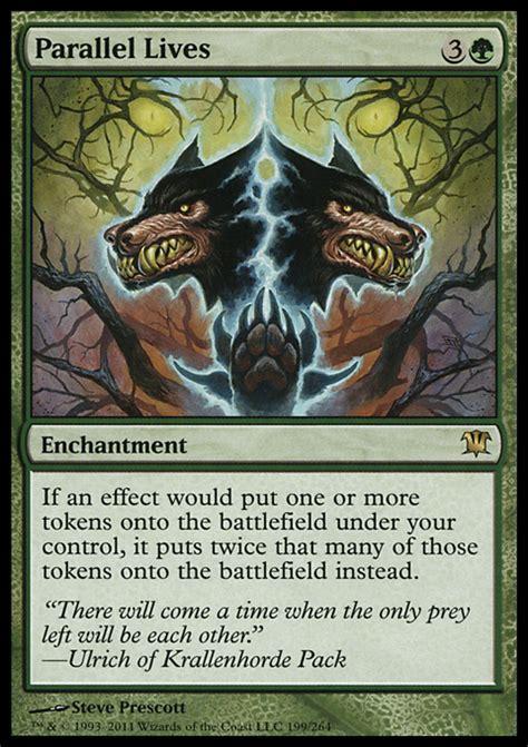 mtg black enchantment deck parallel lives enchantment cards mtg salvation