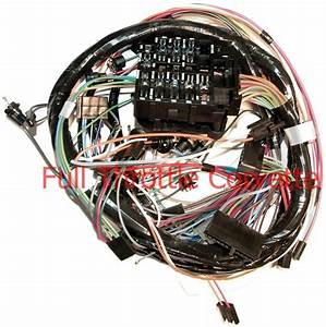 1969 Corvette Dash Wiring Harness For Vettes With A  C