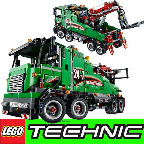 technic truck technic 42008 service truck 2in1 or technic crane ebay