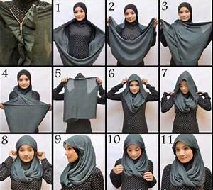 آموزش تصویری انواع مدل بستن شال و روسری - مرحله به مرحله ...