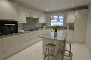 Modern Corian Kitchen Transformation Felixstowe Suffolk