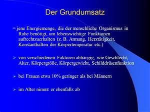 Dynamische Belastung Berechnen : stoffwechsel und ern hrung des sportlers ppt herunterladen ~ Themetempest.com Abrechnung