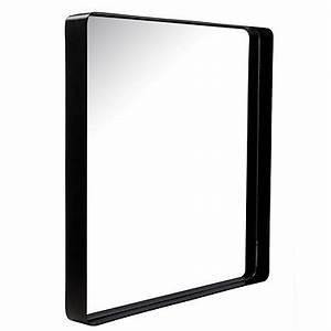 Miroir Metal Noir : miroir pas cher ~ Teatrodelosmanantiales.com Idées de Décoration