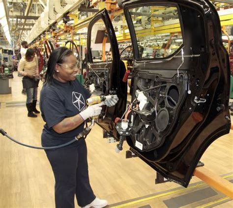 Sterling Heights Chrysler Plant by Chrysler Celebrates Two Big Investments In The Future