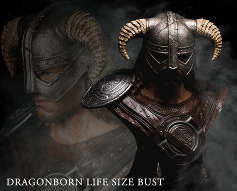 The Elder Scrolls V Skyrim Dragonborn Life Size Bust