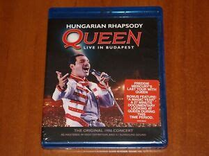 QUEEN HUNGARIAN RHAPSODY BLU-RAY LIVE IN BUDAPEST 1986 ...