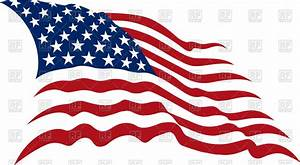 Waving American Stars and Stripes - usa flag Royalty Free ...