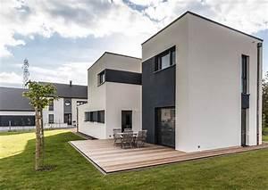 Maison Design Et Performante  U00e0 Ossature Bois Par Innov