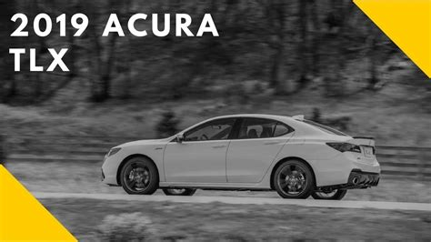 2019 Acura Tlx First Look Youtube
