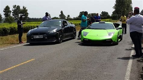 Rent a bugatti in europe with europe luxury car hire. Is This Green Lamborghini Fake..? Watch it Being Shown The Dust by a Nissan GTR (VIDEO)