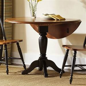 Liberty, Furniture, Low, Country, Black, Drop, Leaf, Dining, Table