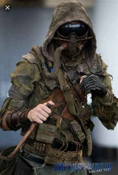apocalypse costume apocalyptic armor survival wasteland clothing joel airsoft zombie concept cyberpunk fallout mask soldados horror tactical apokalypse character tucker