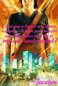 The Mortal Instruments Quote - Mortal Instruments Fan Art ...