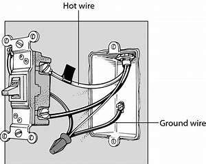 Electrical Switch Wiring Red Black White