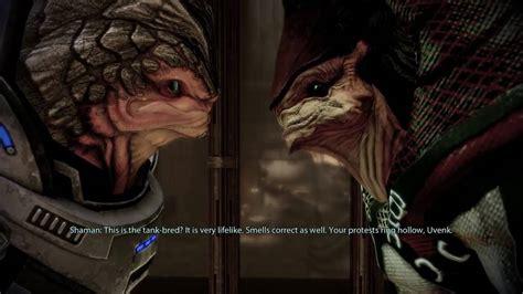 Mass Effect 2 Help Grunt Loyalty Mission Talking