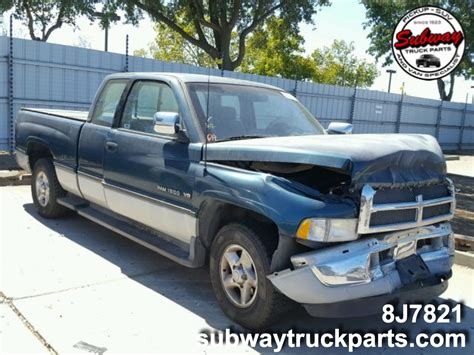 Used Dodge Ram by Used Parts 1996 Dodge Ram 1500 5 9l 4x2 Subway Truck Parts