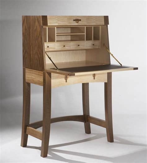 bureau furniture writing bureau in walnut maple makers 39 eye