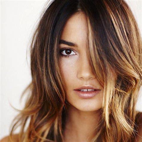 Light Brown Hair Dye For Black Hair by Highlights For Dark Hair Color