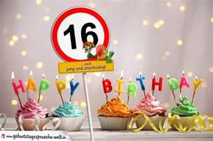 16 geburtstag sprüche 16 geburtstag geburtstagswünsche mit schild und alter auf karte geburtstagssprüche welt
