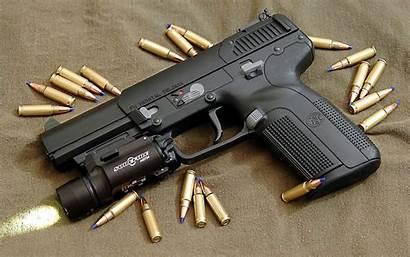 Fn Pistol Five Seven Gun Weapons Wallpapers