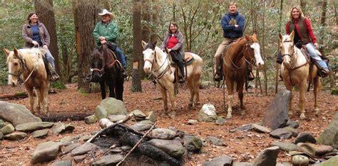 riding horseback trail adventure rides places
