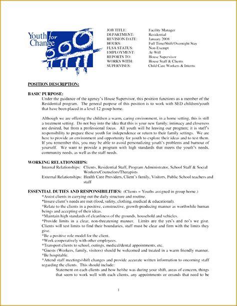 Janitor Resume Duties by 3 Custodian Description Fabtemplatez