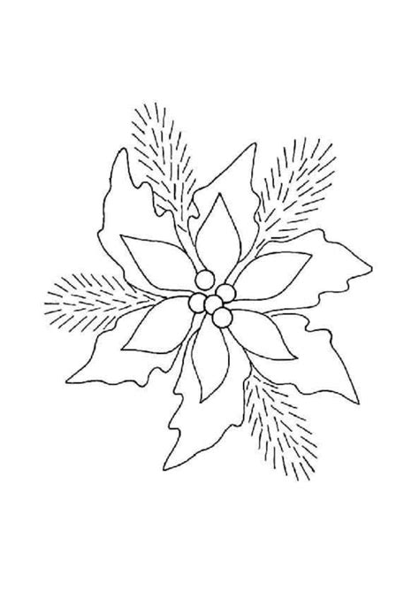 coloriage houx decoration noel sur hugolescargot