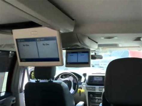volkswagen routan dr minivan navigation dual screen
