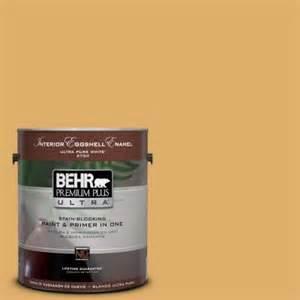 home depot 5 gallon interior paint behr premium plus ultra 1 gal 320d 5 sweet maple semi gloss enamel interior paint 375401 the