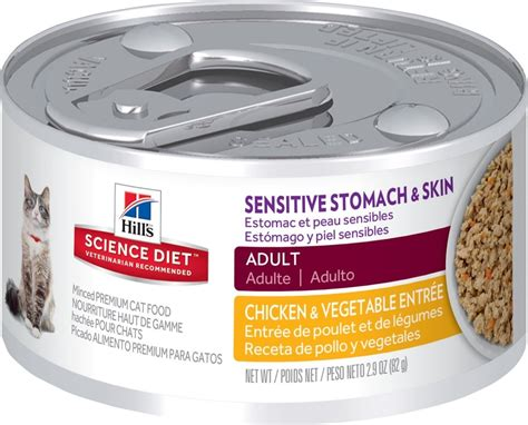 Hill's Science Diet Adult Grain-free Sensitive Stomach And Skin Chicken And Vegetable Entree