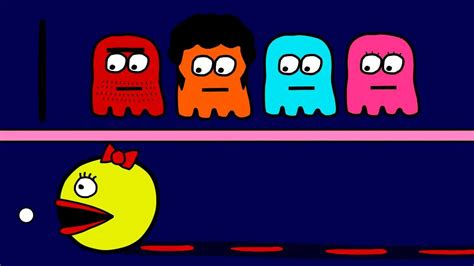 The World's Lamest Pac-man Cartoon...ever / Ms. Pacman Is