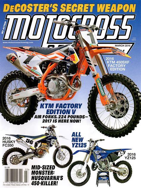 motocross action magazine motocross action magazine mxa weekend news round up it s