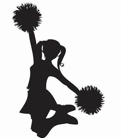 Cheer Cheerleader Cheerleading Clipart Hair Mom