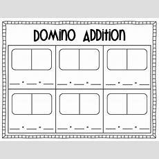 Domino Addition Sheet  School  Math  Pinterest D