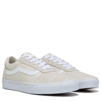 vans ward low top sneaker birch white