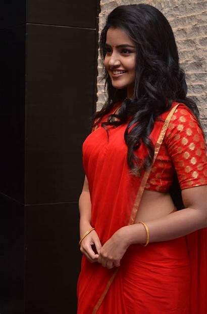 Anupama Parameswaran Actress Saree Latest Movies