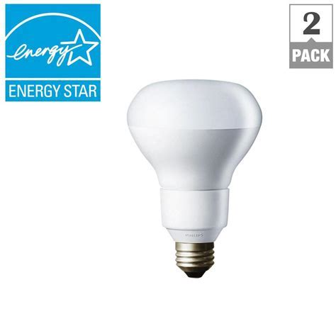 Philips 65W Equivalent Daylight Deluxe R30 Dimmable CFL